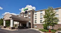 Holiday Inn Express Apex - Raleigh Apex Located off Highway 1, this hotel is about 12 miles from North Carolina State University.  It features an outdoor pool, a fitness center and hot breakfast.  Guest rooms offer free Wi-Fi.