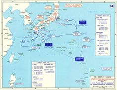 Operation Downfall: The proposed invasion of the Japanese home islands during the Second World War. More World War 2 maps >> In Plan, How To Plan, Asia Map, History Online, Alternate History, D Day, World War Two, Troops, Geography