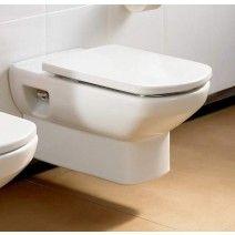 Λεκάνη κρεμαστή ROCA DAMA SENSO, προβ. 55,5εκ. σε Τιμή προσφοράς 249,00€ από την S-BATH.gr Toilet, Bathroom, Washroom, Flush Toilet, Full Bath, Toilets, Bath, Bathrooms, Toilet Room