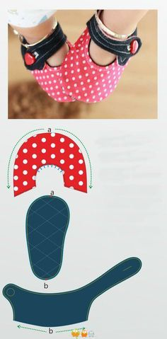 Felt Baby Shoes PDF Pattern Free Easy Video Tutorial