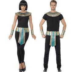 Kit Disfraz de Egipcio - Comprar Online {Miles de Fiestas}