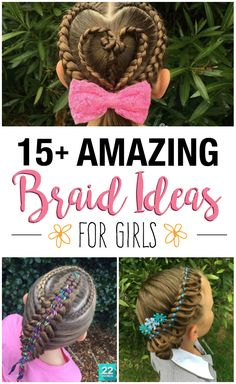 This mom from Australia is changing the morning hair game by creating incredible braids for her daughter each day. Check out these hairstyles for girls to get inspiration and ideas for your kids' (and your own) long hair!