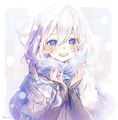 Soy un niño - Zeichnungen - Best Anime Kawaii Anime Girl, Pretty Anime Girl, Cool Anime Girl, Beautiful Anime Girl, Anime Art Girl, Anime Girls, Kawaii Hair, Anime Angel Girl, Anime Chibi