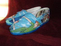 custom Peter Pan TOMS