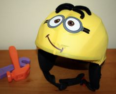 Minion  children/junior helmet cover for ski by Helmetcovers, $13.49