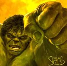 Hulk Smash! by Mark A Spears