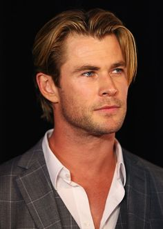 Web Exclusive: Sexiest Man Alive Chris Hemsworth's Sexiest Hairstyles