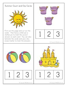 summer cut and paste puzzle it 39 s good to be a kid summer pinterest summer worksheets. Black Bedroom Furniture Sets. Home Design Ideas