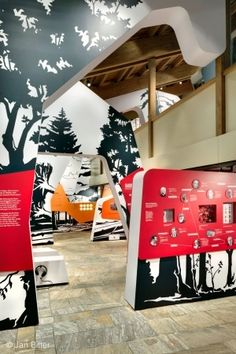 THE WAY TO NATURE – A HISTORY OF FOREST AND PEOPLE Visitor Centre Hans-Eisenmann-Haus Bavarian Forest National Park, Germany 2010