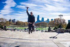 Rocky steps in Philadelphia jump for joy! Love traveling #rocky #rockysteps #philadelphia #usa #travel #jump #traveling #skyline #view #explore #fall #sky #happy #travels #wanderlust #backpacking #travelgram #picoftheday #inspiration #instagram #instadaily #livetravelchannel #dailyescape by thewandelaar