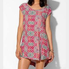 Tie dye hippie dress Tie dye dress. I'm 5 foot(see picture for fit) brand is some days loving from urban outfitters. ⚡️fast shipping.10% off all bundles.❌no trades. Urban Outfitters Dresses Mini