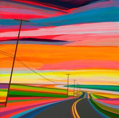 """""""Sunset on Old Montauk Highway"""" by Grant Haffner"""