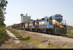 RailPictures.Net Photo: SGLR 575 Seminole Gulf EMD GP9 at Punta Gorda, Florida by Casey Thomason