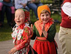 children at Skansen