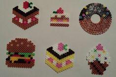 Food hama beads by Sylvana