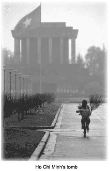 Ho Chi Minh`s tomb