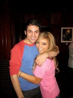 Mitch Grassi and Kirstie Muldonado