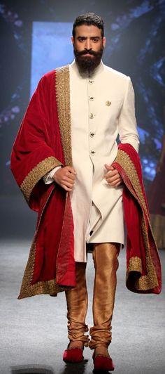 Shantanu & Nikhil #IndianFashion #MensFashionIndian Wedding Dresses Men Indian, Wedding Dress Men, Wedding Attire, Indian Groom Wear, Indian Wear, Indian Style, Indian Fashion Modern, Mens Sherwani, Achkan