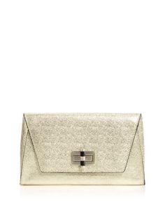 1e17d2008c9 DIANE von FURSTENBERG 440 Gallery Uptown Metallic Caviar Clutch - 100%  Exclusive Handbags - Bloomingdale s