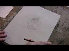 Encaustic Technique 3 Yupo © Paper Transfer - YouTube
