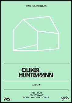 Warm Up presents - Oliver Huntemann & Teho Live @ Crucifix Lane / London www.walloh.com