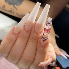Drip Nails, Bling Acrylic Nails, Aycrlic Nails, Summer Acrylic Nails, Best Acrylic Nails, Swag Nails, Cute Nails, Pretty Nails, Hair And Nails