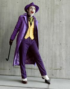 Anthony Misiano (as The Joker) Dc Cosplay, Harley Quinn Cosplay, Joker Cosplay, Joker And Harley Quinn, Cosplay Outfits, Best Cosplay, Awesome Cosplay, Anthony Misiano, Joker Outfit