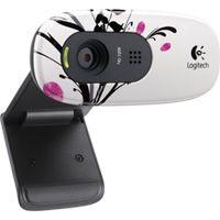 Logitech HD Webcam C270 Fingerprint Flowers - € 24,99