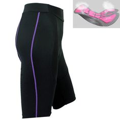 Women's Bike Bicycle Cycling Shorts Padded Riding Half Pants Tights Size S-XL Cycling Gear, Cycling Shorts, Bike Pants, Sport Outfits, Tights, Bicycle, Shape, 3d, Fitness