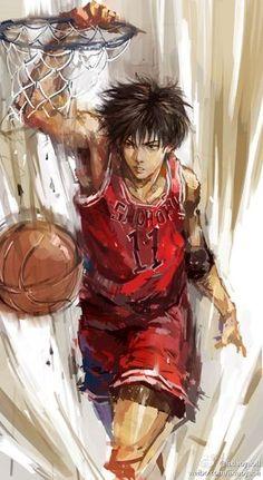 Trendy Basket Ball Anime Slam Dunk Ideas Source by anime Fanart Manga, Manga Art, Anime Manga, Kuroko, Slam Dunk Manga, Ball Drawing, Ji Chang Wook, Anime Comics, Slammed