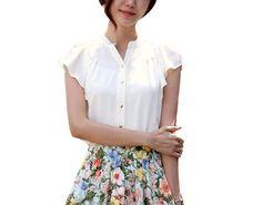 Ladies Summer New Occupation Falbala Ol White Chiffon Shirt Girl Chiffon Shirt Vangood,http://www.amazon.com/dp/B00DL053XU/ref=cm_sw_r_pi_dp_6.nksb17PC0KZFF2