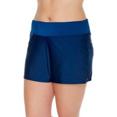 Free 2-day shipping on qualified orders over $35. Buy Catalina Women's Plus-Size Full Coverage Swim Shorts at Walmart.com