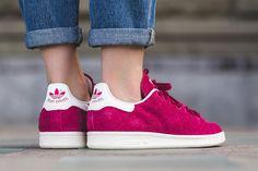 7a8949b3b685 adidas Originals Stan Smith 推出電光粉紅小羊皮鞋款
