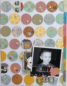 my heart belongs to this page layout #scrapbook #papercraft #love