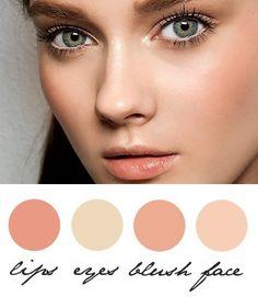 Natural makeup #TopshopPromQueen