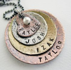 Hey, I found this really awesome Etsy listing at http://www.etsy.com/listing/75210263/mom-necklace-personalized-rustic-mixed