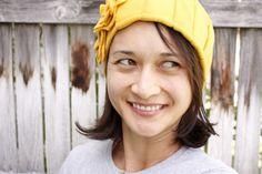 I love the yellow one!  delia creates: Ear Warmers