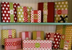 No Bow gift wrapping.