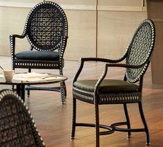 Плетеное кресло для кафе/ресторана Монако, Point / Обеденные кресла и стулья / gardenofeden