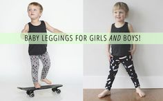 The Best Baby Leggings For Girls AND Boys!