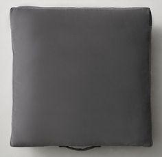 Custom Italian Cotton Velvet Pillow Collection | Restoration Hardware