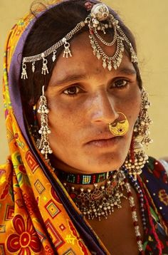 Mulher da Índia - woman from India