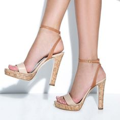 Bianca Platform Sandals. Have some like this, love them