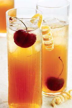 Un délice de #cocktail ce #Cerise Glacée!