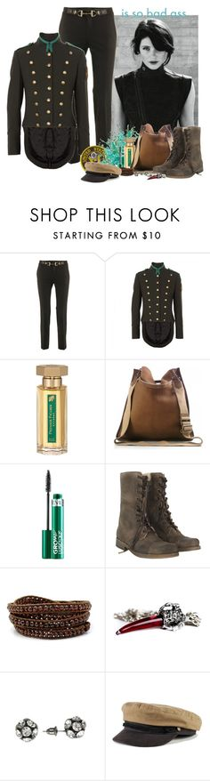 """""""Love Me, Hate Me"""" by crazydita ❤ liked on Polyvore featuring G-Star Raw, Gucci, McQ by Alexander McQueen, L'Artisan Parfumeur, Burberry, Revlon, AllSaints, Chan Luu, Simply Vera and Brixton"""