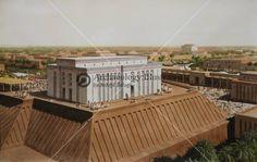 Uruk, White Temple, Mesopotamia @ Bible Illustrations, Biblical Sermon Illustrations, Christian Pictures