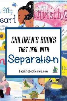 These children's books about separation can help kids to cope with being apart from their parents. #separationanxiety #booksaboutseparation #kidsbooks Story Books For Toddlers, Funny Books For Kids, Toddler Books, Childrens Books, Kindergarten Books, Preschool Books, Practical Parenting, Parenting Tips, Children's Books About Family