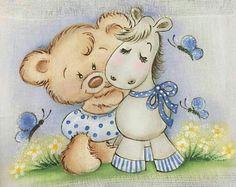 Ursinho e cavalinho