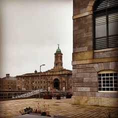 Imagine this place in full swing as a victualling yard: tall ships with the snap of canvas men hoisting crates and bundles marines marching past the chorus of commands and grumble of boots. #plymouth