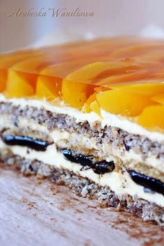 Baking Recipes, Cake Recipes, Dessert Recipes, Cake Bars, Polish Recipes, Cookie Desserts, Homemade Cakes, Cake Cookies, Baked Goods